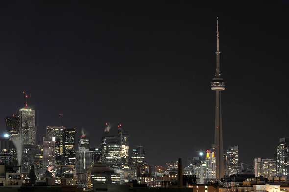 Earth Hour 2011 Toronto