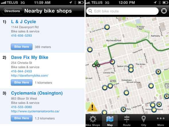 Ride the City App