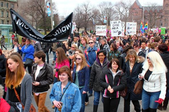 SlutWalk Toronto