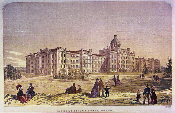 Toronto, Toronto Lunatic Asylum, Provincial Lunatic Asylum, 999 Queen Street West
