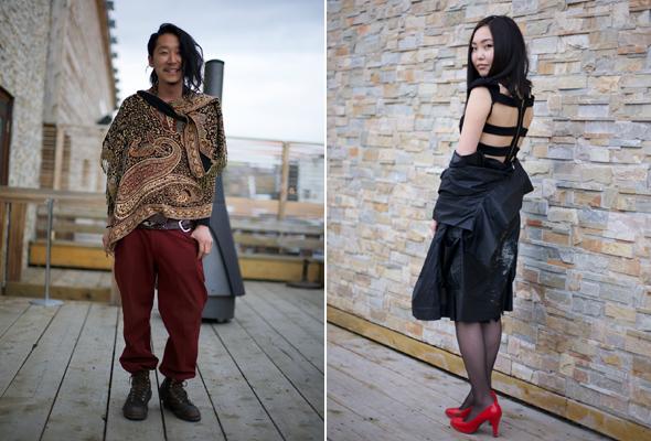 street style at alternative fashion week fat