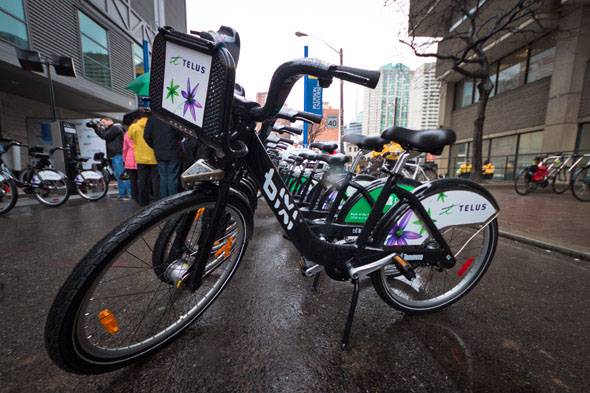 BIXI Bike sharing Toronto