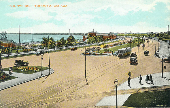 Toronto, history, Sunnyside Amusement Park, Sunnyside Pavilion, Sunnyside Beach