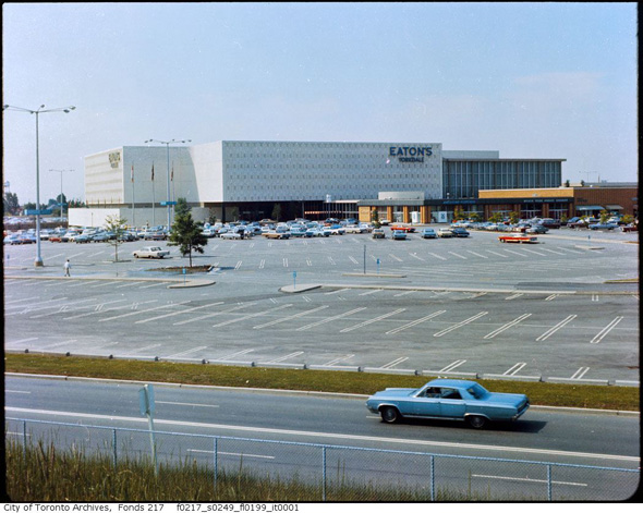 Toronto Malls Vintage Old