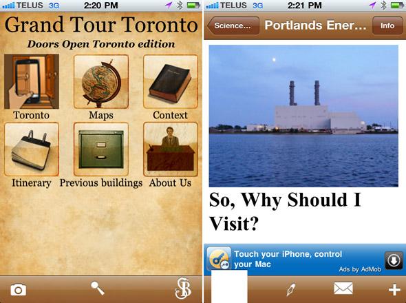 Doors Open App