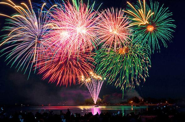 Canada Day Fireworks Toronto 2011