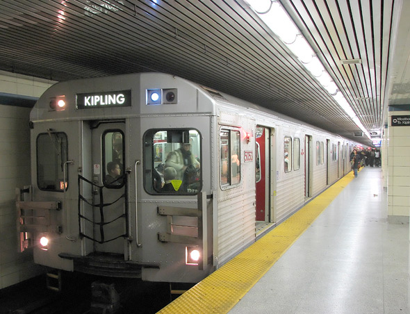 What Ttc Subway Cars Used To Look Like