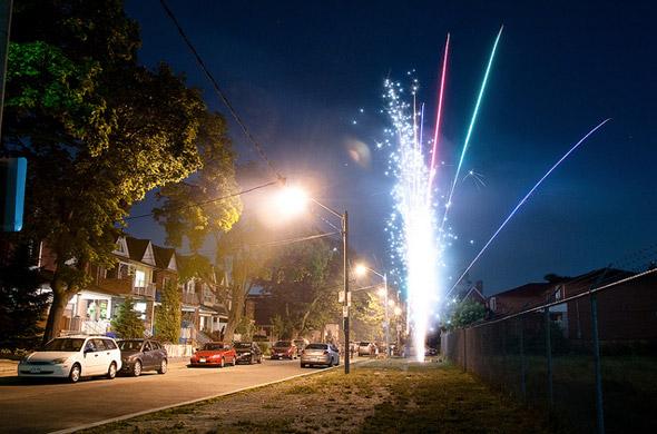 Canada Day Fireworks Toronto