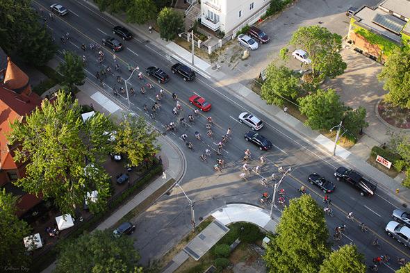 Jarvis Bike Lane Protest