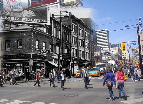 Yonge Dundas Toronto 1930