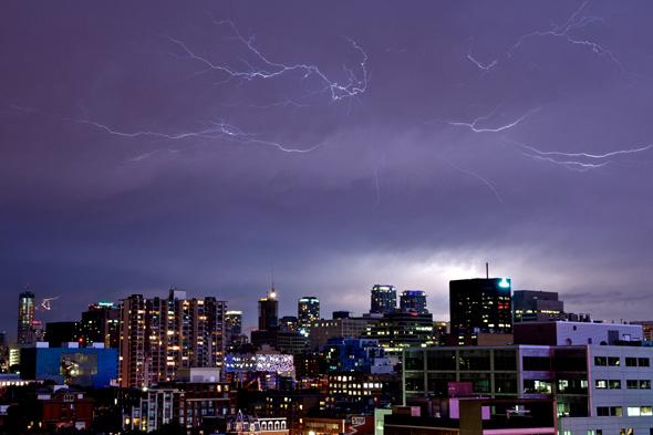 Toronto Lightning Storm