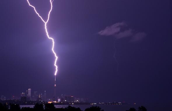 Lightning Storm Toronto