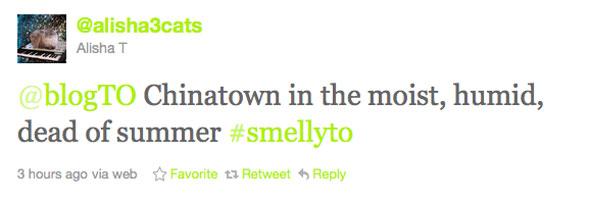 smells Toronto