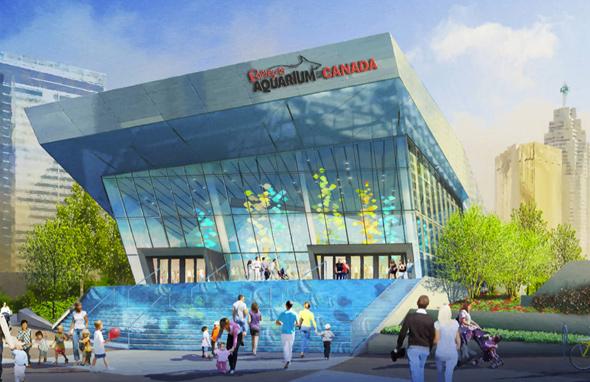 Ripley's Aquarium of Canada - concept art