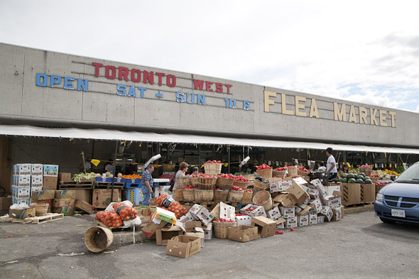 weston flea market toronto