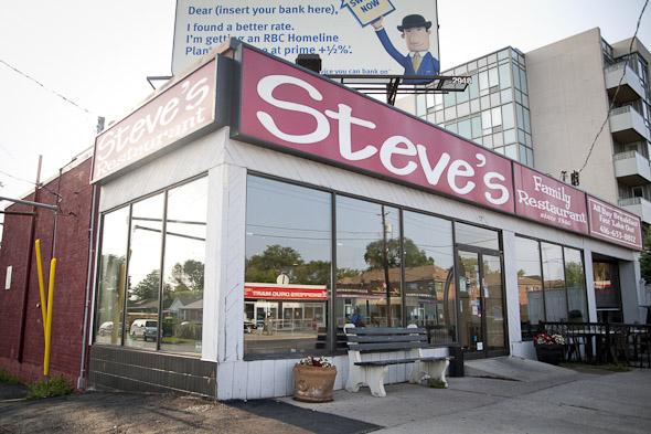 Steves Restaurant Toronto