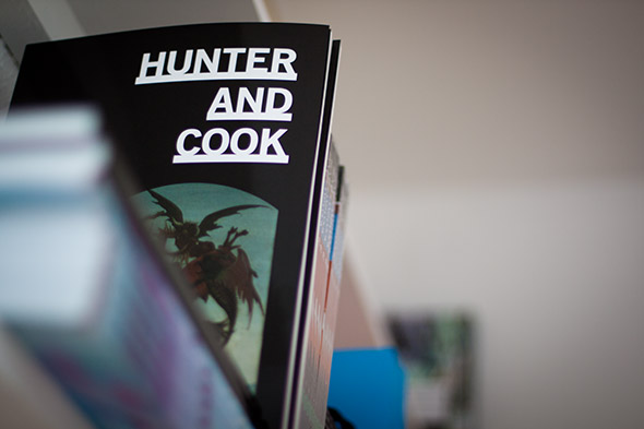 hunter and cook