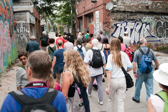 Toronto Laneway Tours