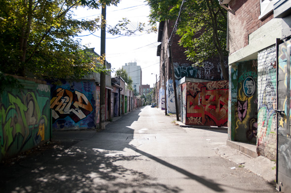 Toronto Laneway Tours Alley Way