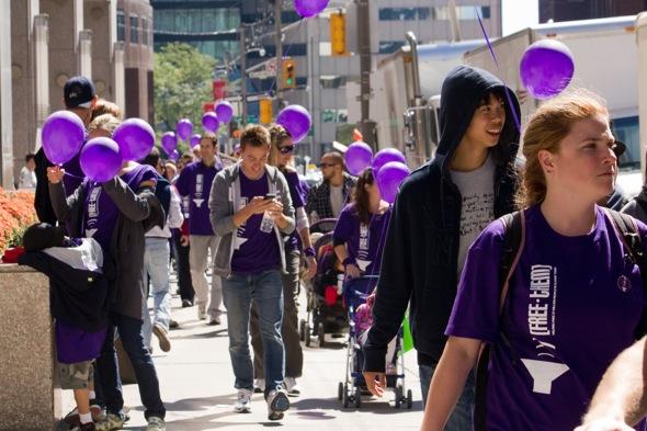 Walk for Freedom Toronto