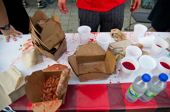 World Poutine Eating Championship Toronto