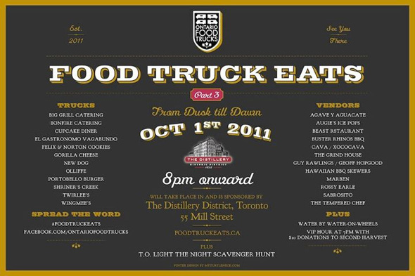 Food Truck Eats To Make Nuit Blanche More Appetizing