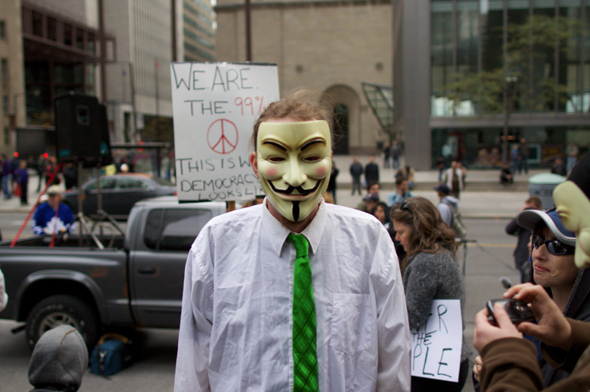 Occupy Toronto Protests