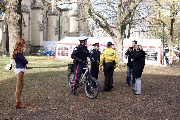 Occupy Toronto Eviction
