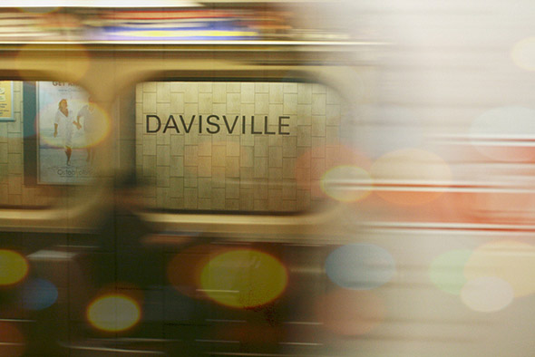 davisvile, subway, station
