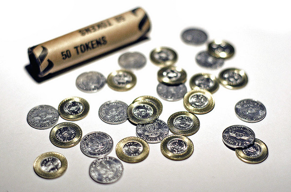 TTC Fare Hike tokens