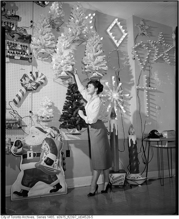 Christmas photographs from the Toronto Archives