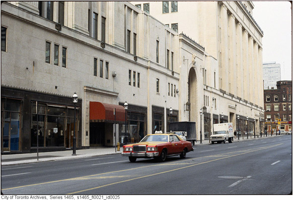 Toronto History Taxicab