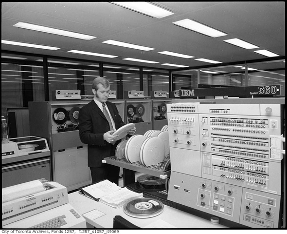 Toronto History computers