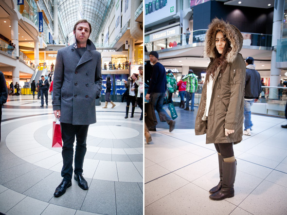 Canada Goose expedition parka outlet 2016 - Street Style: A coat parade at the Eaton Centre
