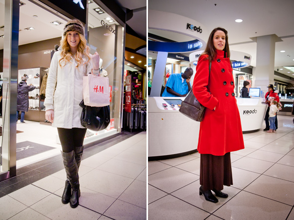 Canada Goose womens sale official - Street Style: A coat parade at the Eaton Centre
