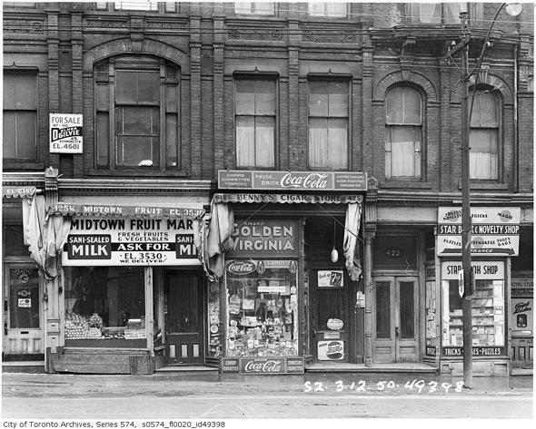 What Yonge Street Looked Like In The 1950s
