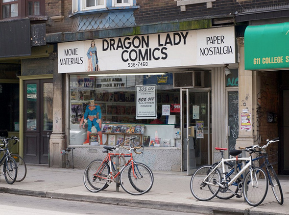 Dragon Lady Comics Close