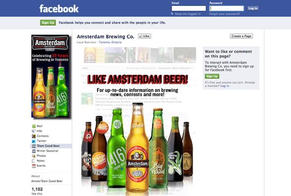 Toronto beer social media