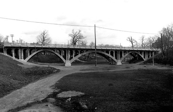 Garrison Creek Crawford Street Bridge
