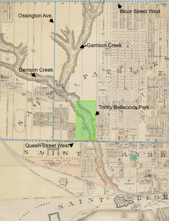 Garrison Creek Map Illustrated