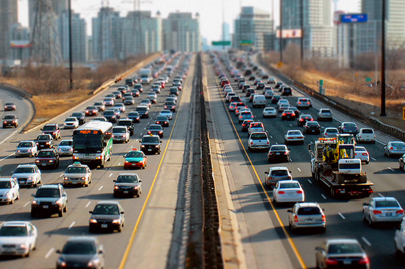 Traffic jams are one of the most prevalant, and unhealthy aspects of driving.