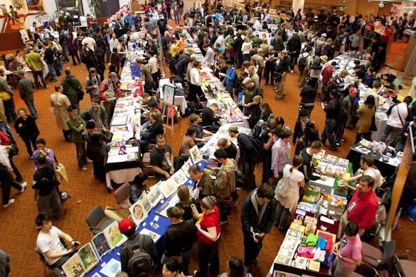 The Toronto Comics and Arts Festival is a showcase of indie artists and their works.