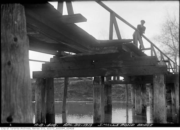 Smalls Pond Man Bridge