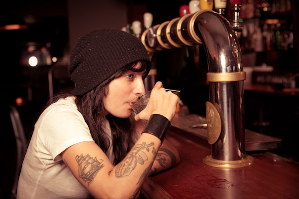 sandy de almeida toronto bartender