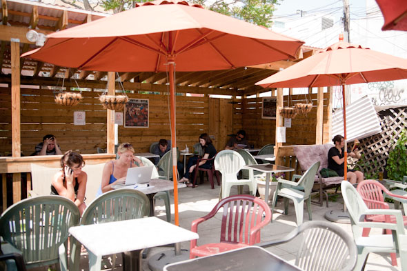 Cafe Patios Toronto