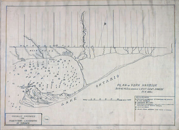 Plan York Harbour Toronto