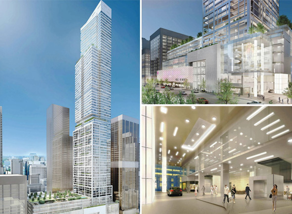 50 bloor west condo proposal