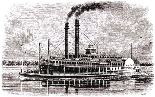 mississippi steamer thornton blackburn