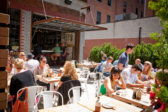 New Toronto Patios For 2012 Gusto 101