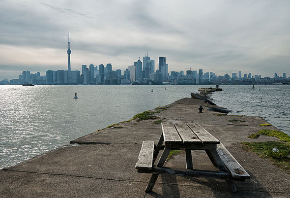 wards island bench toronto